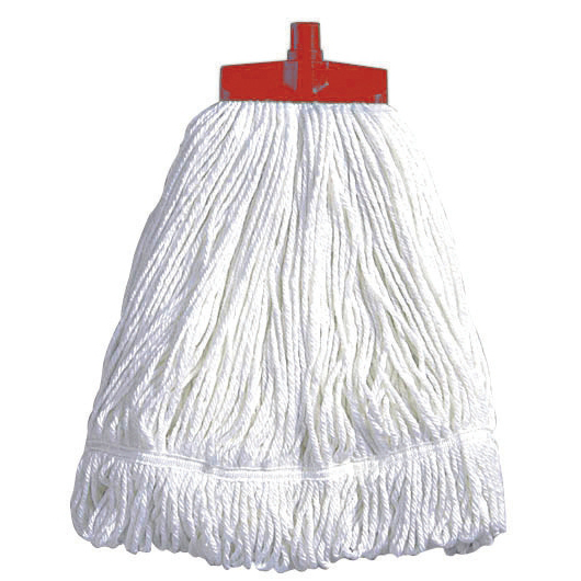 Mops & Buckets Scott Young Research Interchange Syntex Kentucky Mop Head 16oz Red Ref CM18R