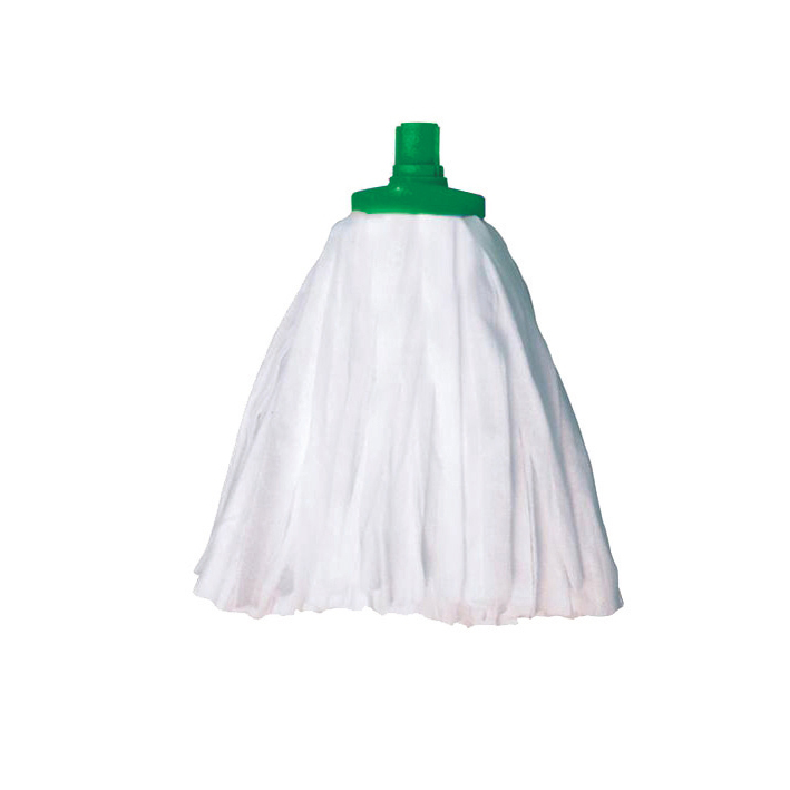 Mops & Buckets Scott Young Research Interchange Sorb Socket Mini Mop Head 12oz Green Ref SSMHG