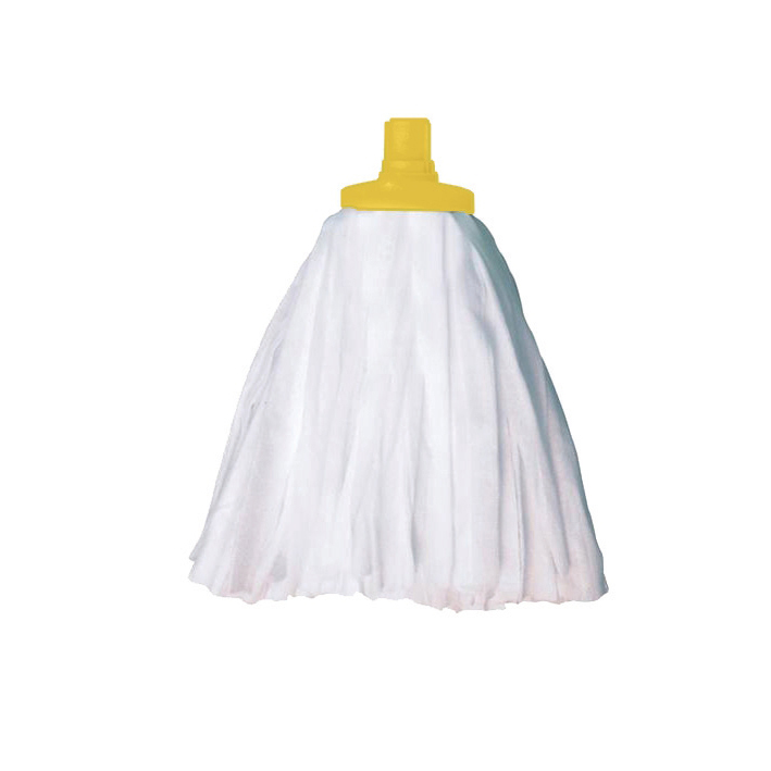Mops & Buckets Scott Young Research Interchange Sorb Socket Mini Mop Head 12oz Yellow Ref SSMHY