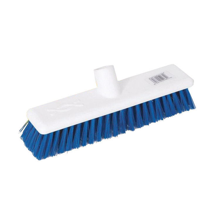 Scott Young Research Hygiene Broom Hard 12 inch Blue Ref 4027882