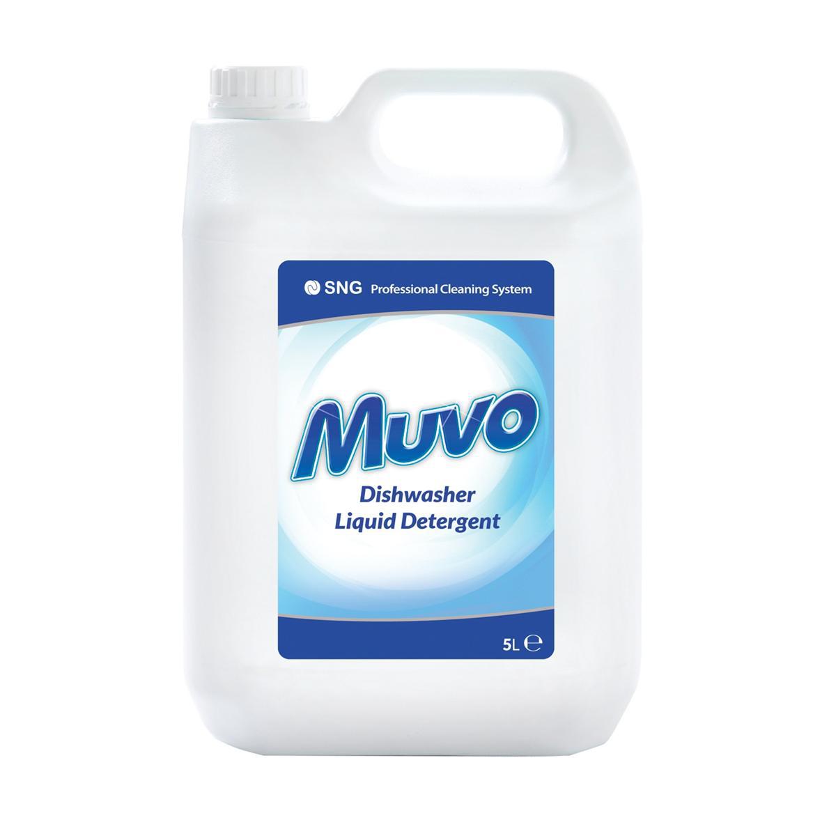 Muvo Pro Dishwasher Liquid Detergent 5 Litres Ref M5LTRDD