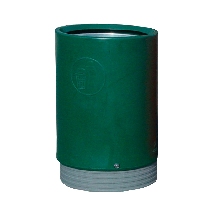 Open Top Bin Heavy-Duty 75 Litres Dark Green
