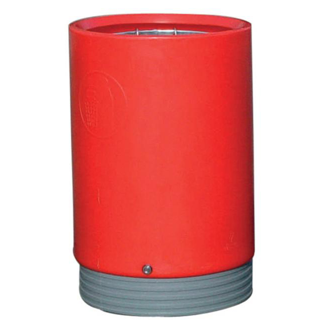 Rubbish Bins Open Top Bin Heavy-Duty 75 Litres Red