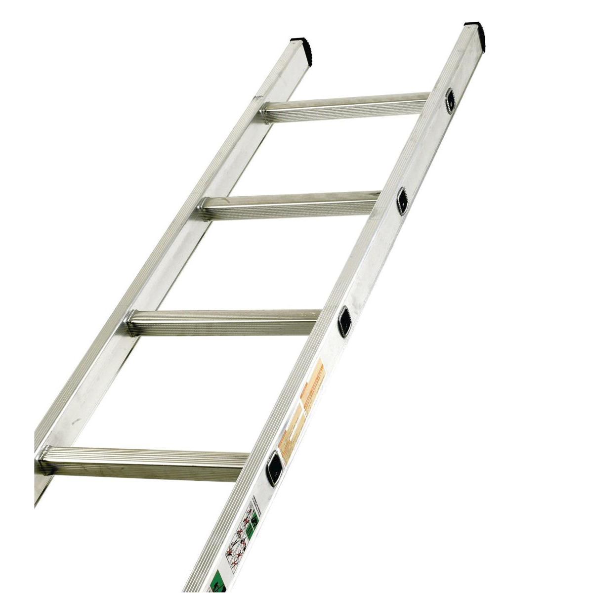 Steps Aluminium Ladder Single Section 12 Rungs Capacity 150kg