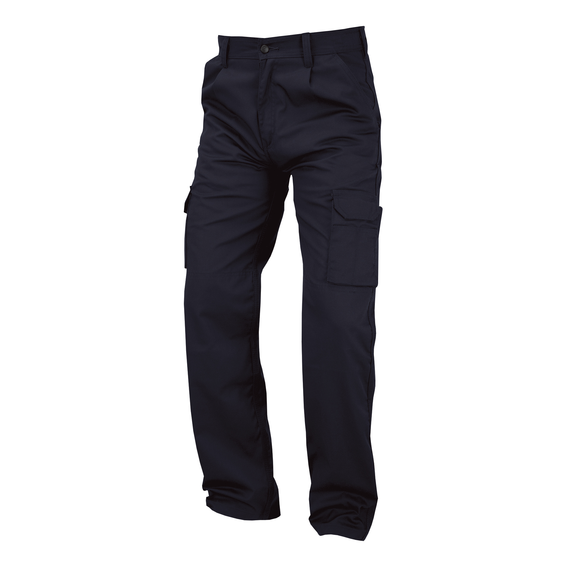 Combat Trousers Polycotton with Pockets 40in Regular Navy Blue Ref PCTHWN40 *1-3 Days Lead Time*