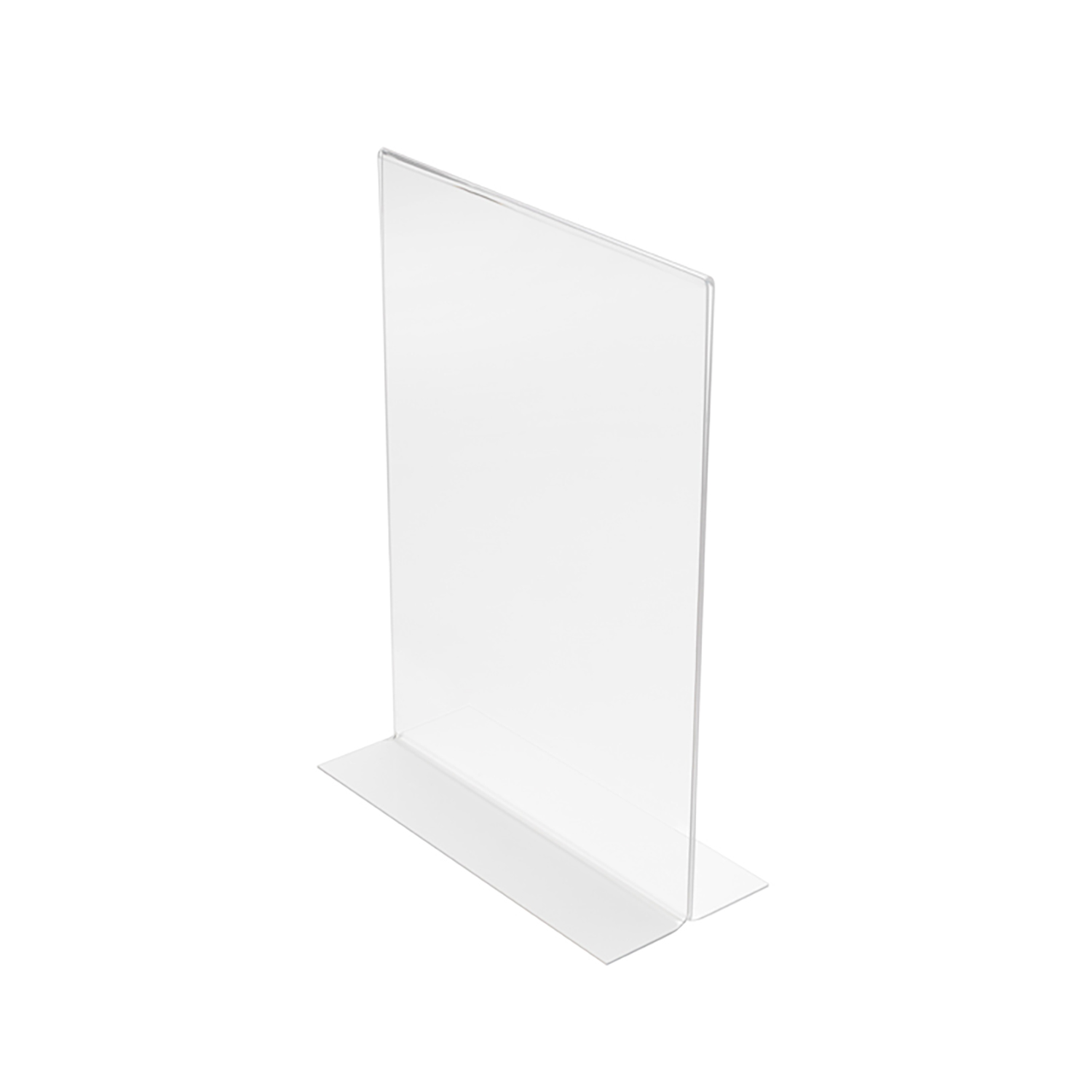 Literature Holders Stand Up Sign Holder Double Sided Portrait A5 Clear