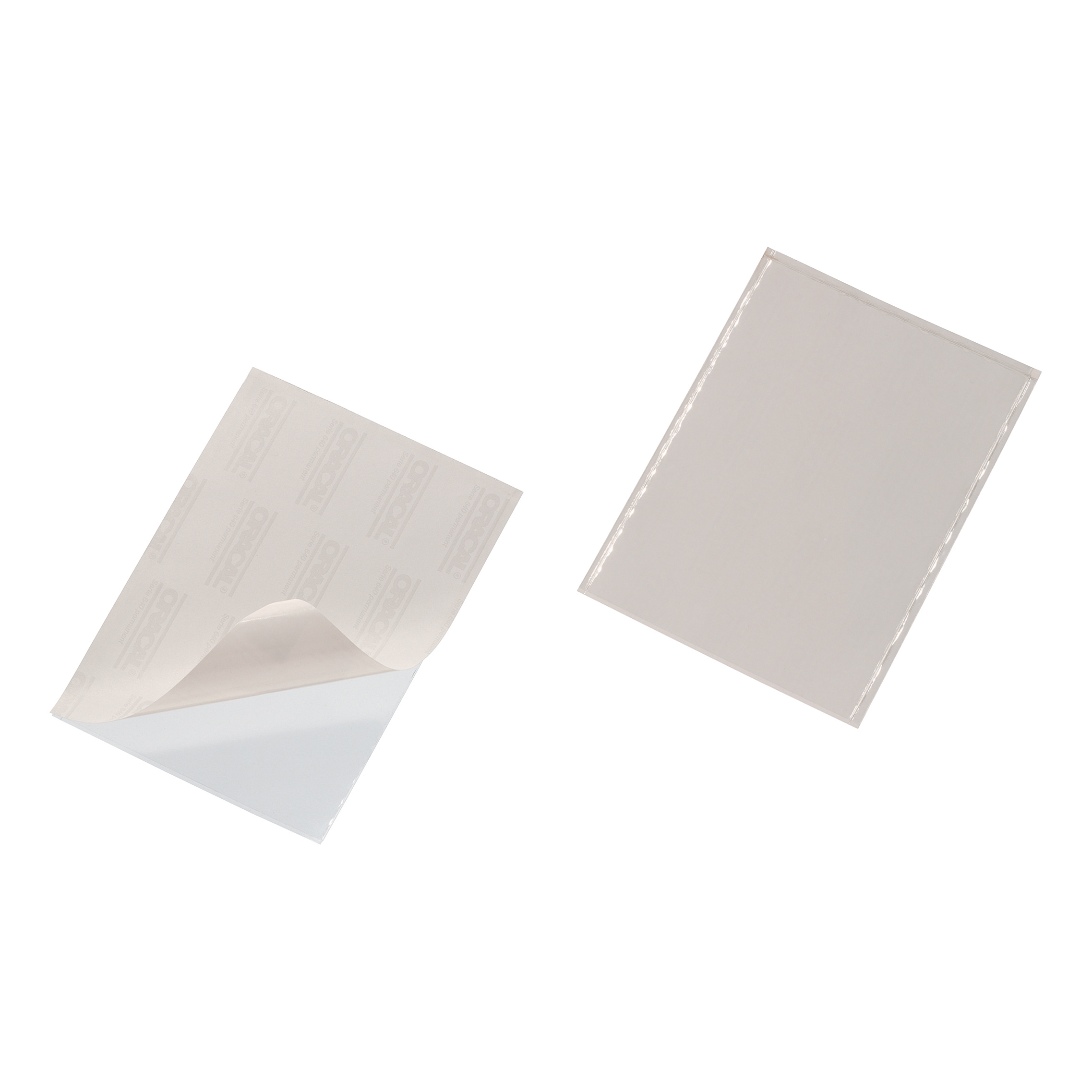 Self Adhesive Filing Strips Durable Pocketfix Self Adhesive Top Opening A5 Ref 8294 Pack 25