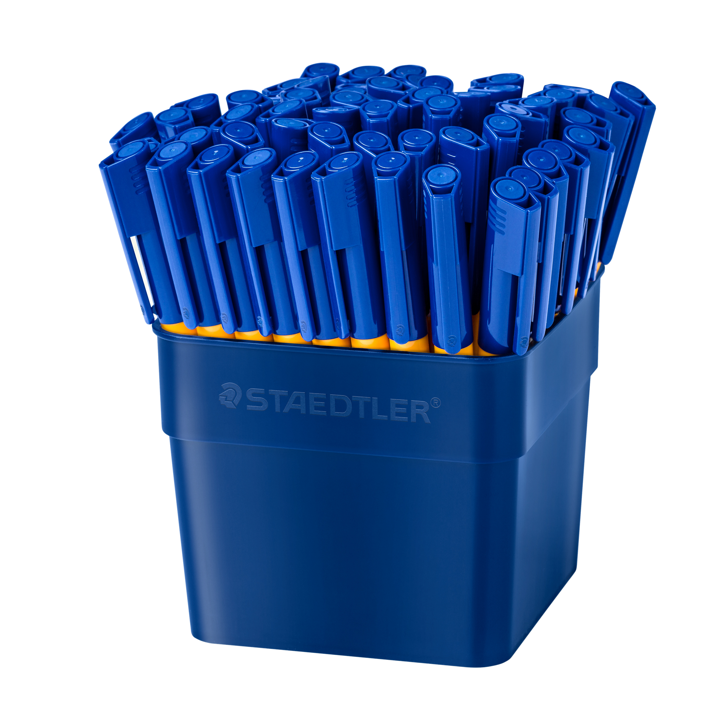 Felt pen Staedtler Handwriting Pens Blue Ref 309-3 T50 Pack 50