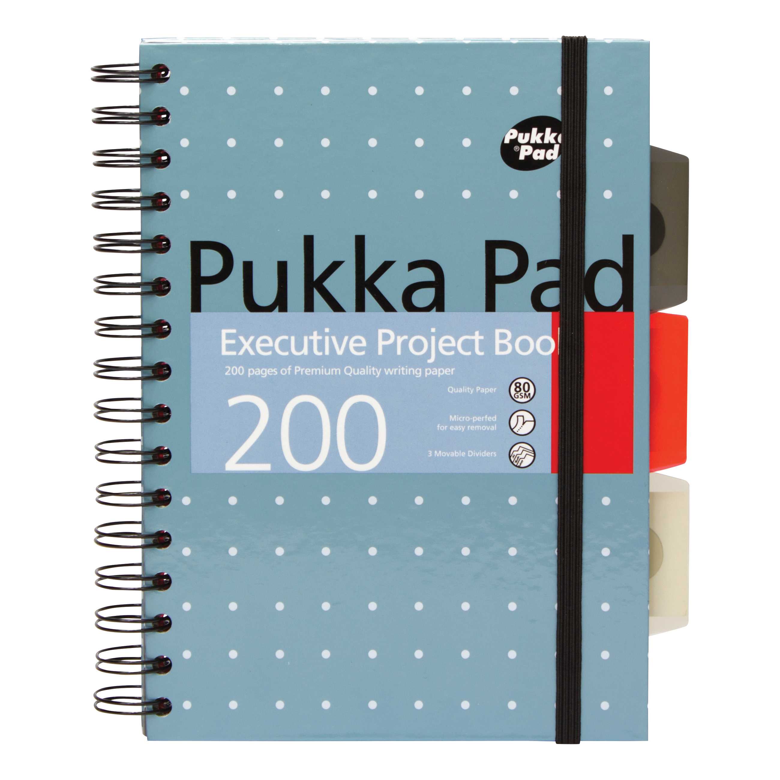 Pukka Pad Executive Project Book A5 Metallic Ref 6336-MET [Pack 3] [x2 & FREE Haribo] Jul-Sep 2018