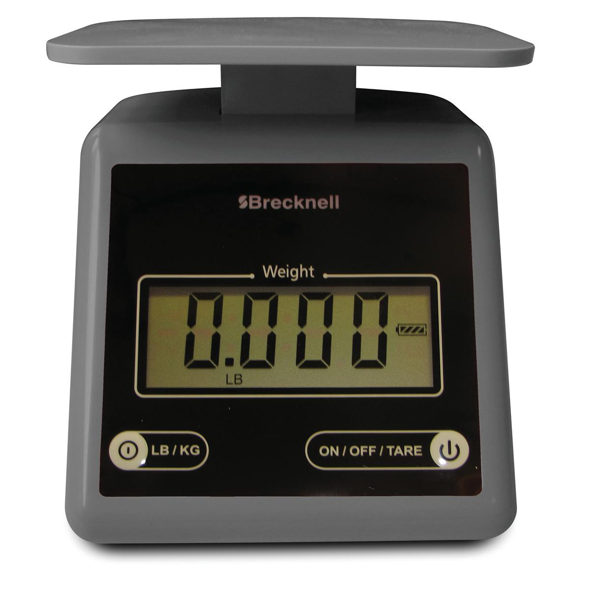 Postal scales Brecknell PS-7 Compact Postal Scale LCD Display Grey Ref 816965005222