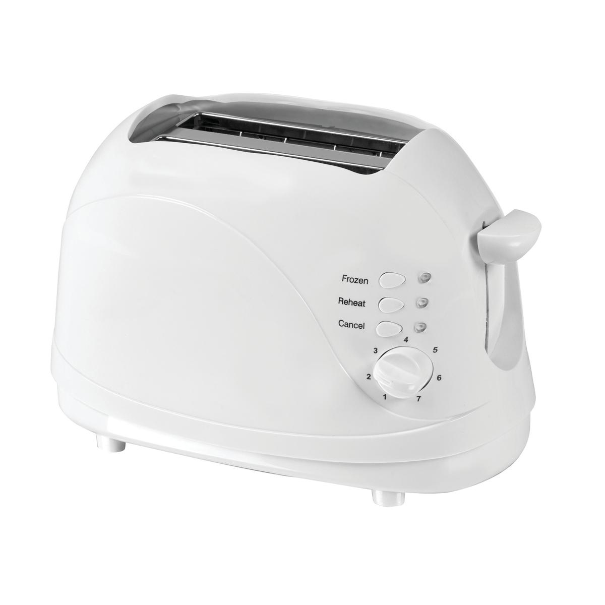 Kitchen Appliances 5 Star Facilities Toaster Cool Wall 2 Slice 700W White
