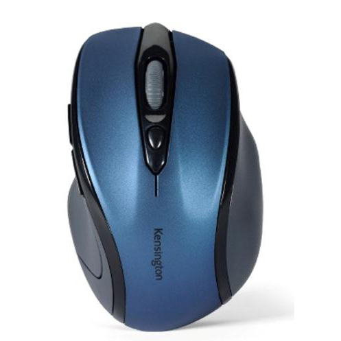 Kensington Pro Fit Mouse Mid-Size Optical Wireless Right Handed Blue Ref K72421WW