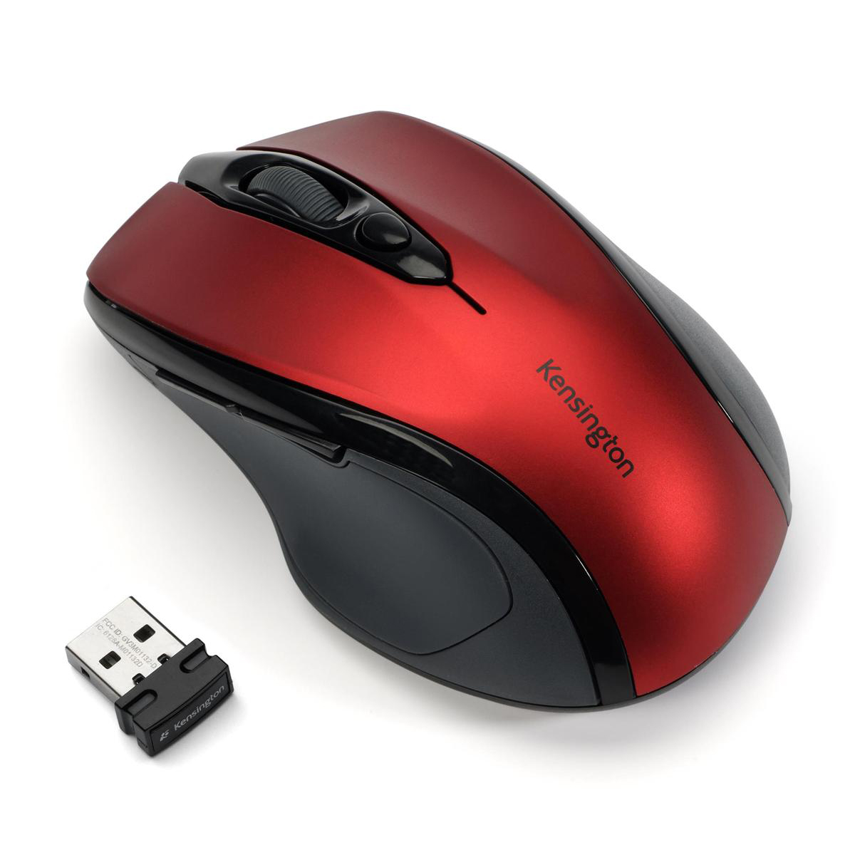 Kensington ProFit Wireless Mouse Red