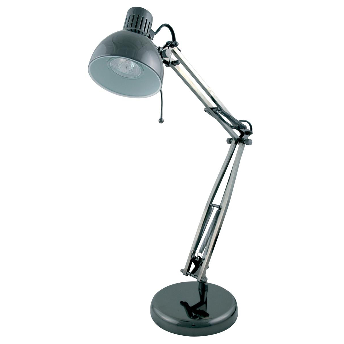Poise Desk Lamp with Adjustable Arm 35W Max Height of 540mm Base 155x155x35mm Black