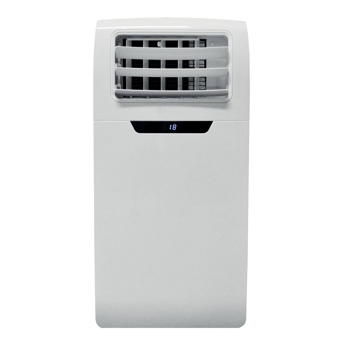 Air Conditioner Portable with Extendable Hose Timer 3 Speed 9000 BTU White