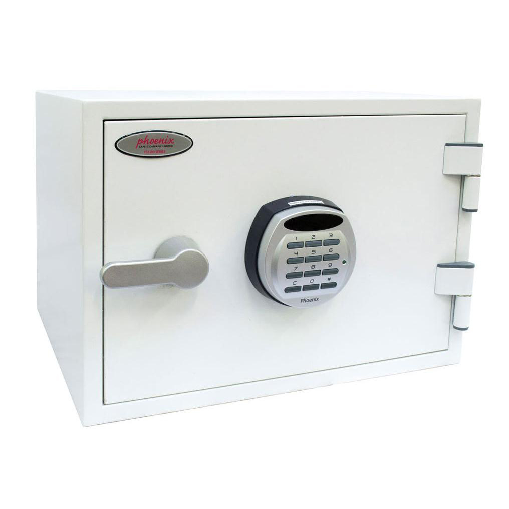 Key Store Phoenix Titan II Safe for Media 60mins Electronic Lock 30kg 19 Litre Ref FS1281E