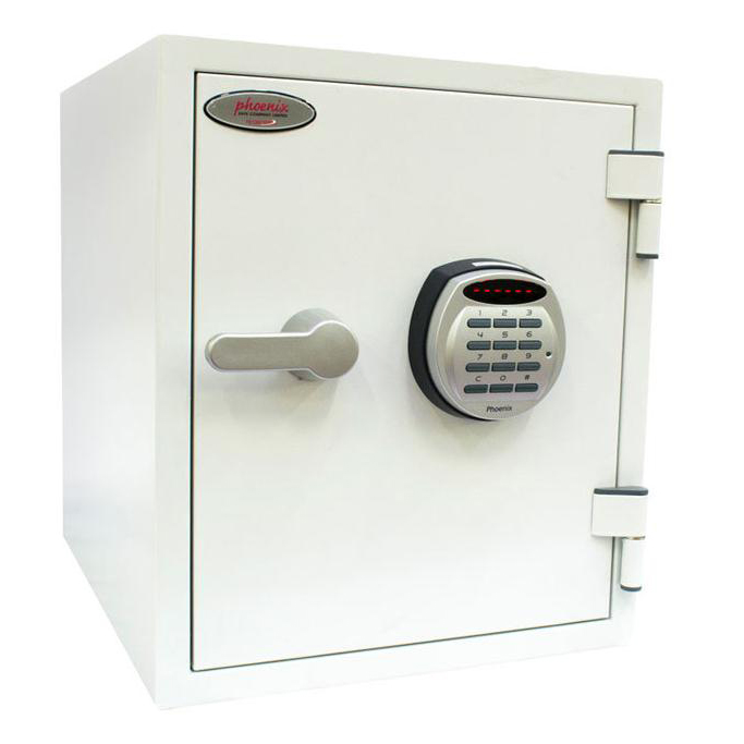 Safes Phoenix Titan II Safe for Media 60mins Electronic Lock 36kg 25 Litre Ref FS1282E
