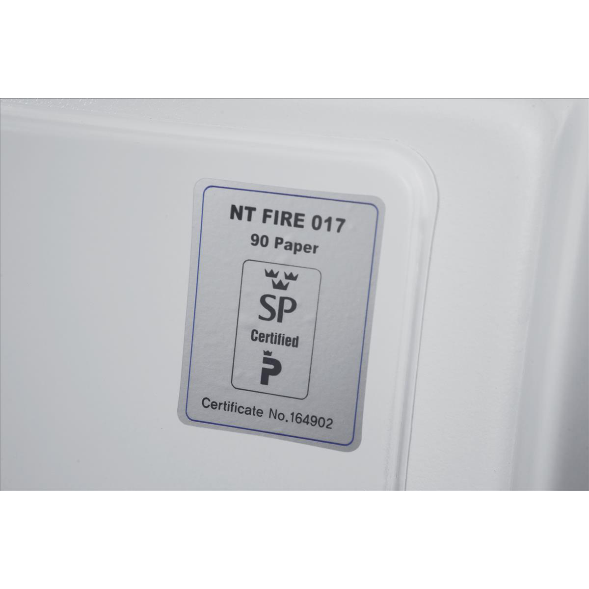 Phoenix Fire Fighter II Safe Electronic Lock 93kg 63 Litre White Ref FS0441E
