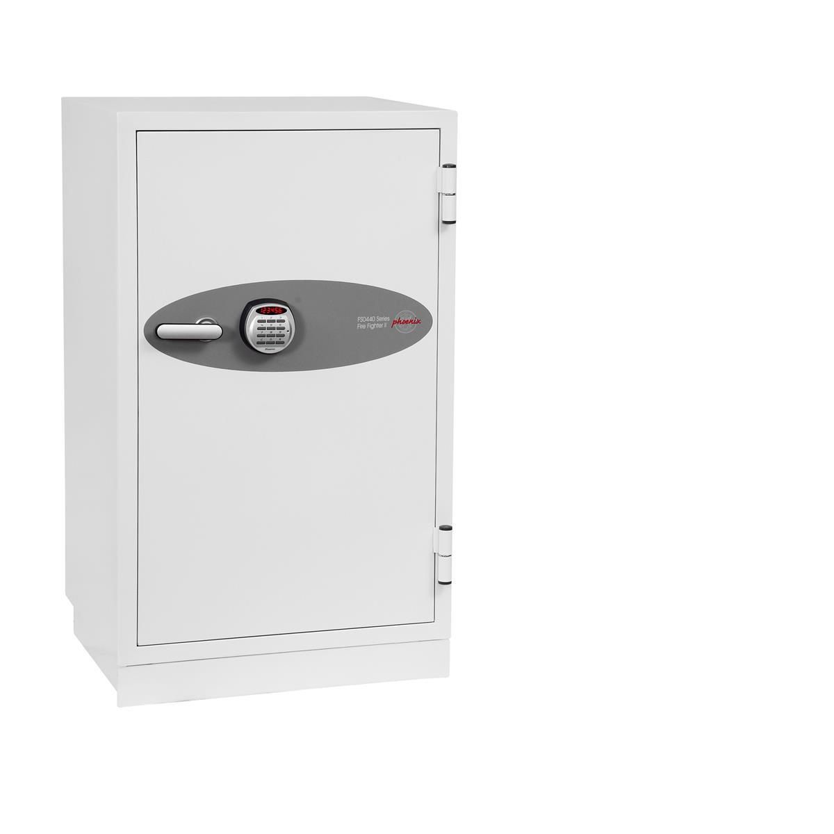 Phoenix Fire Fighter II Safe Electronic Lock 218kg 145 Litre White Ref FS0443E