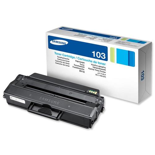 Samsung MLT-D103S Laser Toner Cartridge Page Life 1500pp Black Ref SU728A
