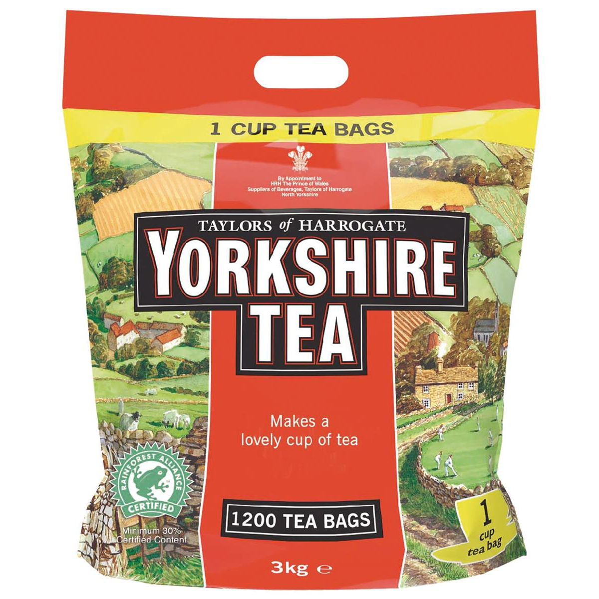 Yorkshire Tea Bags Ref 0403170 Pack 1200