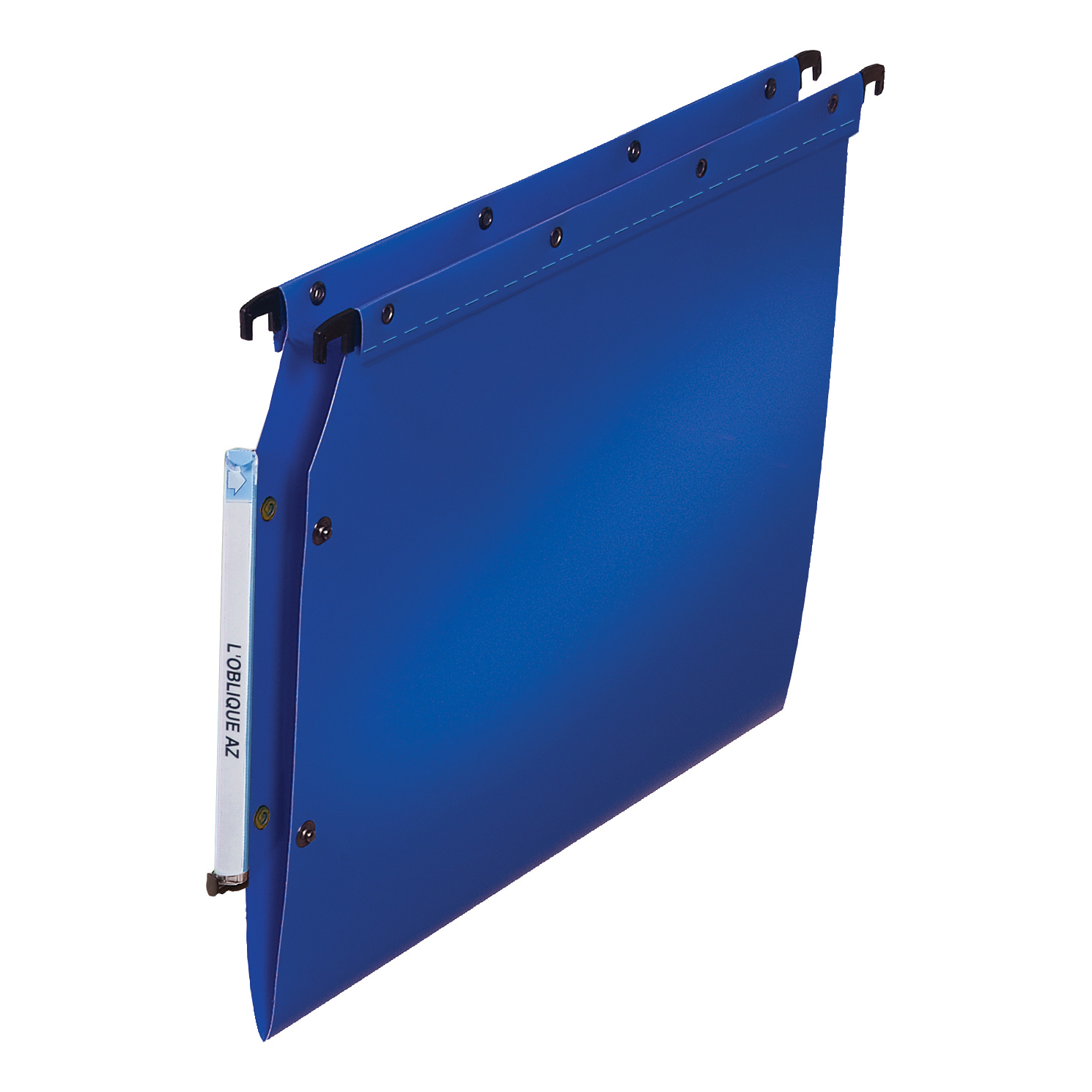 Lateral Files Elba Ultimate Polypro Linking Lateral File Polypropylene 15mm V-base A4 Blue Ref 100330583 Pack 25