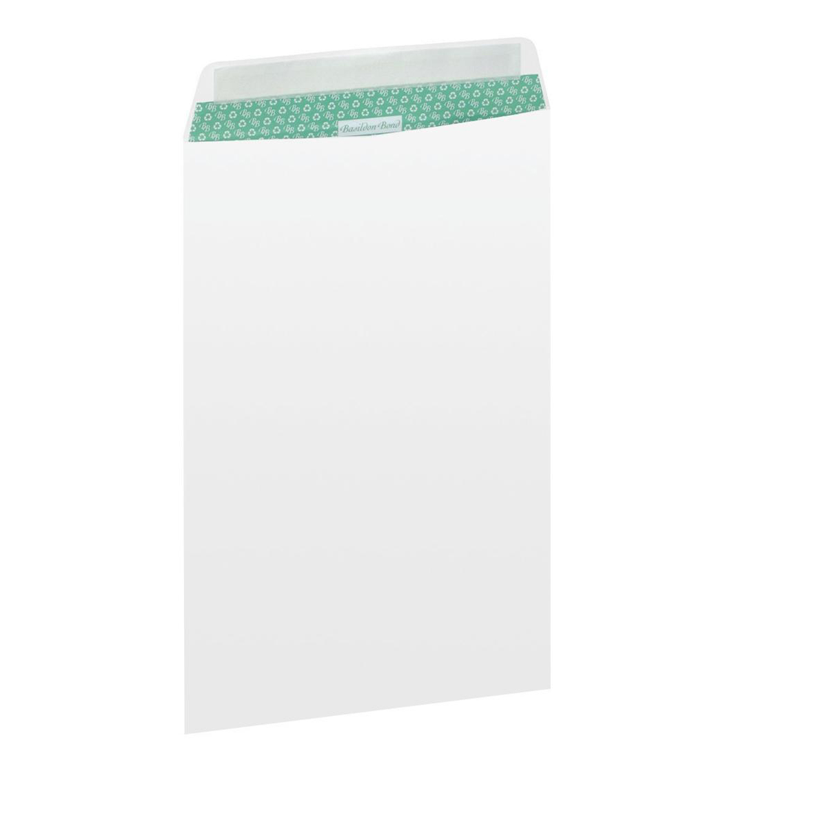 Basildon Bond Envelopes Recycled Pocket Peel and Seal Window 120gsm C4 White Ref B80285 Pack 50