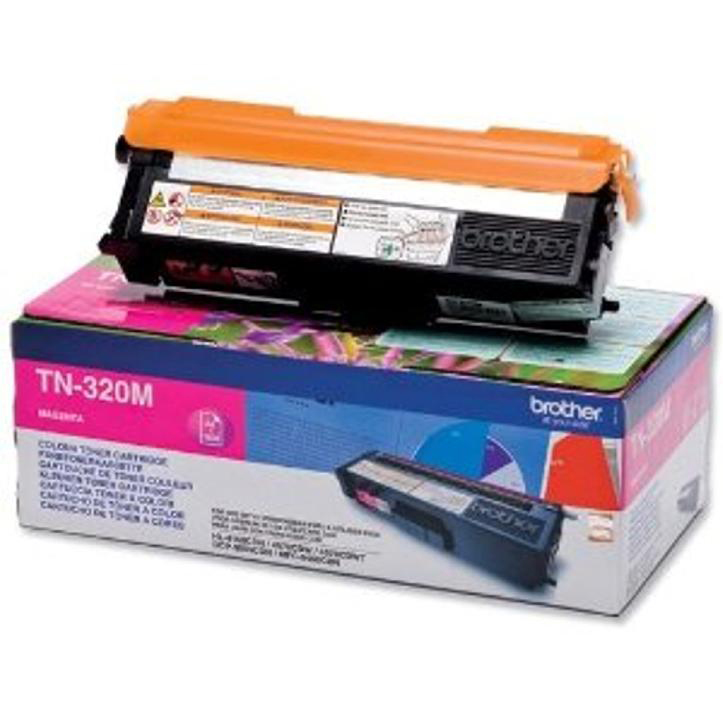 Brother Laser Toner Cartridge Page Life 1500pp Magenta Ref TN320M