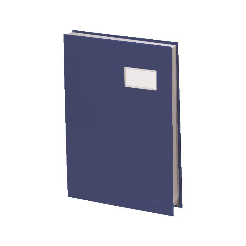 Image for Signature Book 20 Compartments Durable Blotting Card 340x240mm Blue