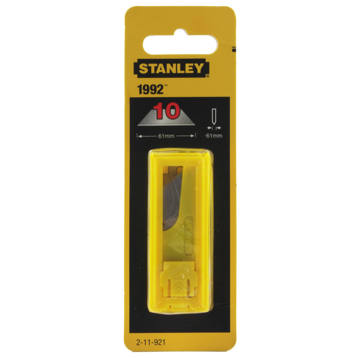 Stanley Replacement Spare Blades Heavy-duty 1992 Ref 2-11-921 Pack 10