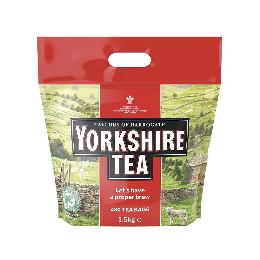 Tea Yorkshire Tea Bags Ref 0403167 Pack 480