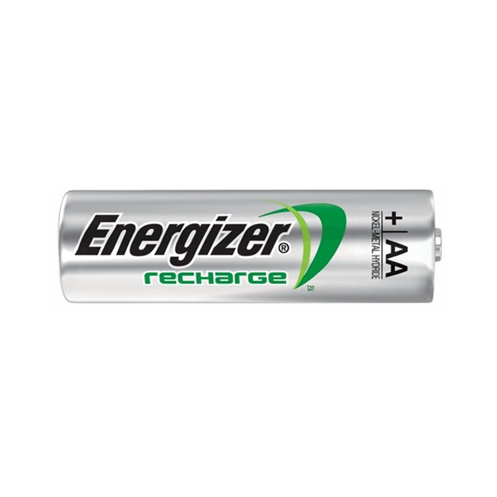 Energizer Battery Rechargeable Advanced NiMH Capacity 2500mAh LR06 1.2V AA Ref E300624600 Pack 4