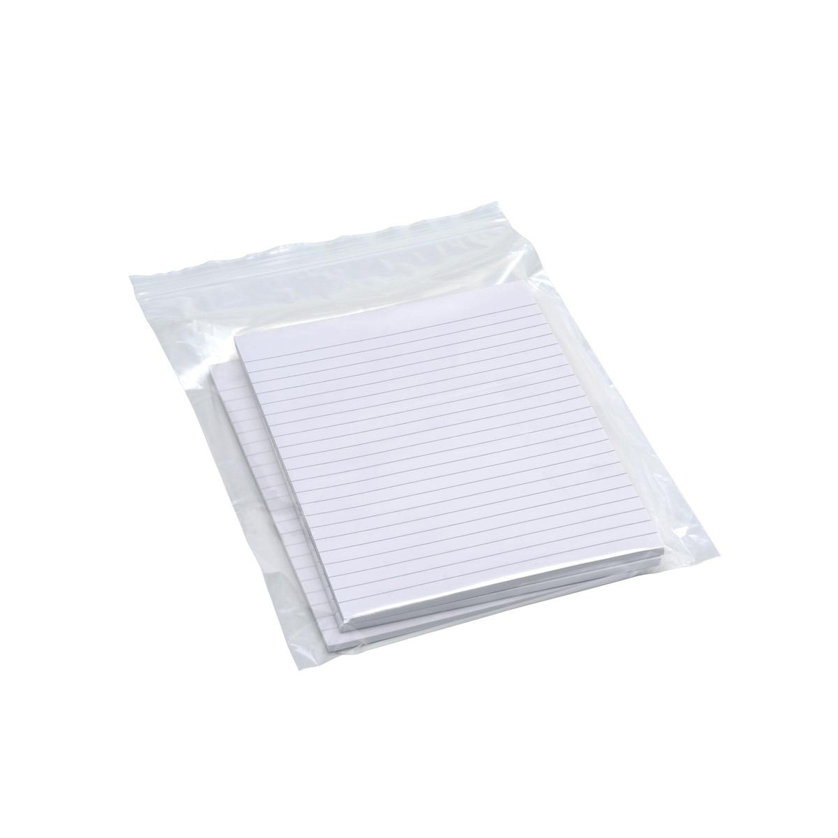 Grip Seal Polythene Bags Resealable Plain 40 Micron 150x229mm PG11 Pack 1000