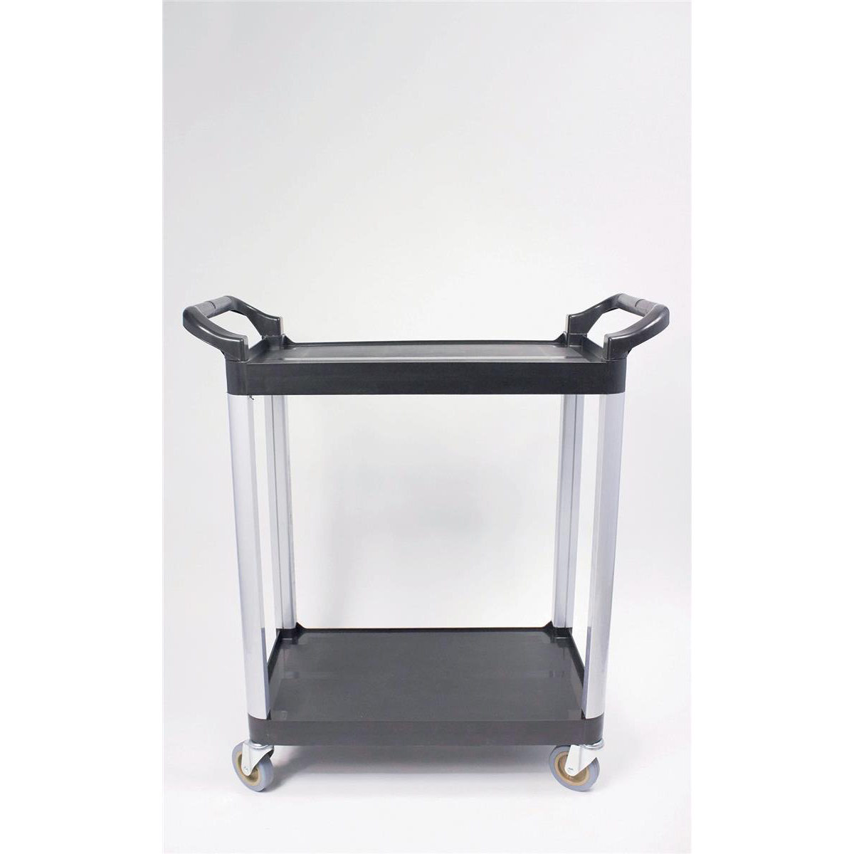 5 Star Facilities Utility Tray Trolley Standard 2 Shelf Capacity 100kg W460xD750xH940mm
