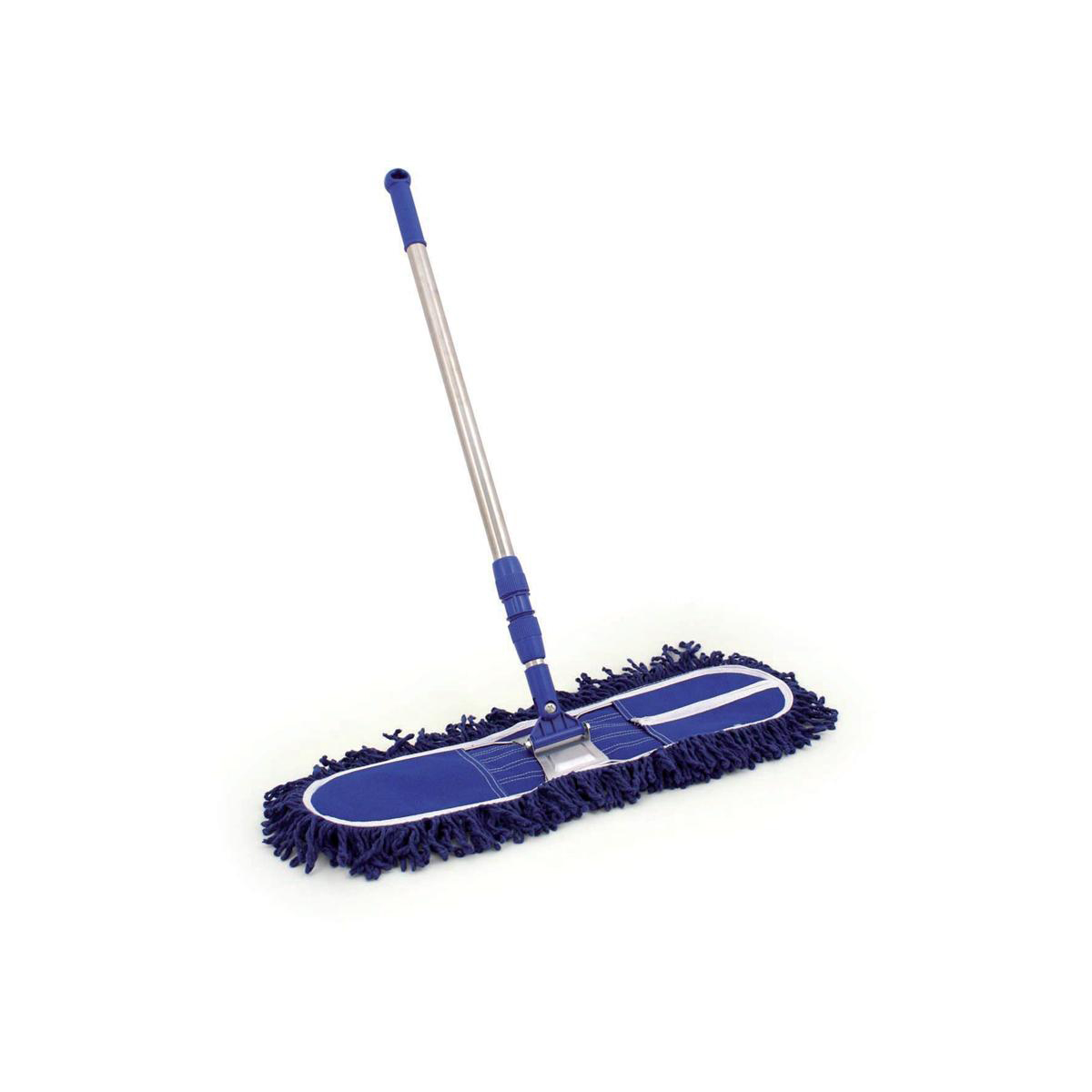 Mops & Buckets Bentley Dustbeater Sweeper with Telescopic Handle (60cm Blue head) Ref SPC/DB60