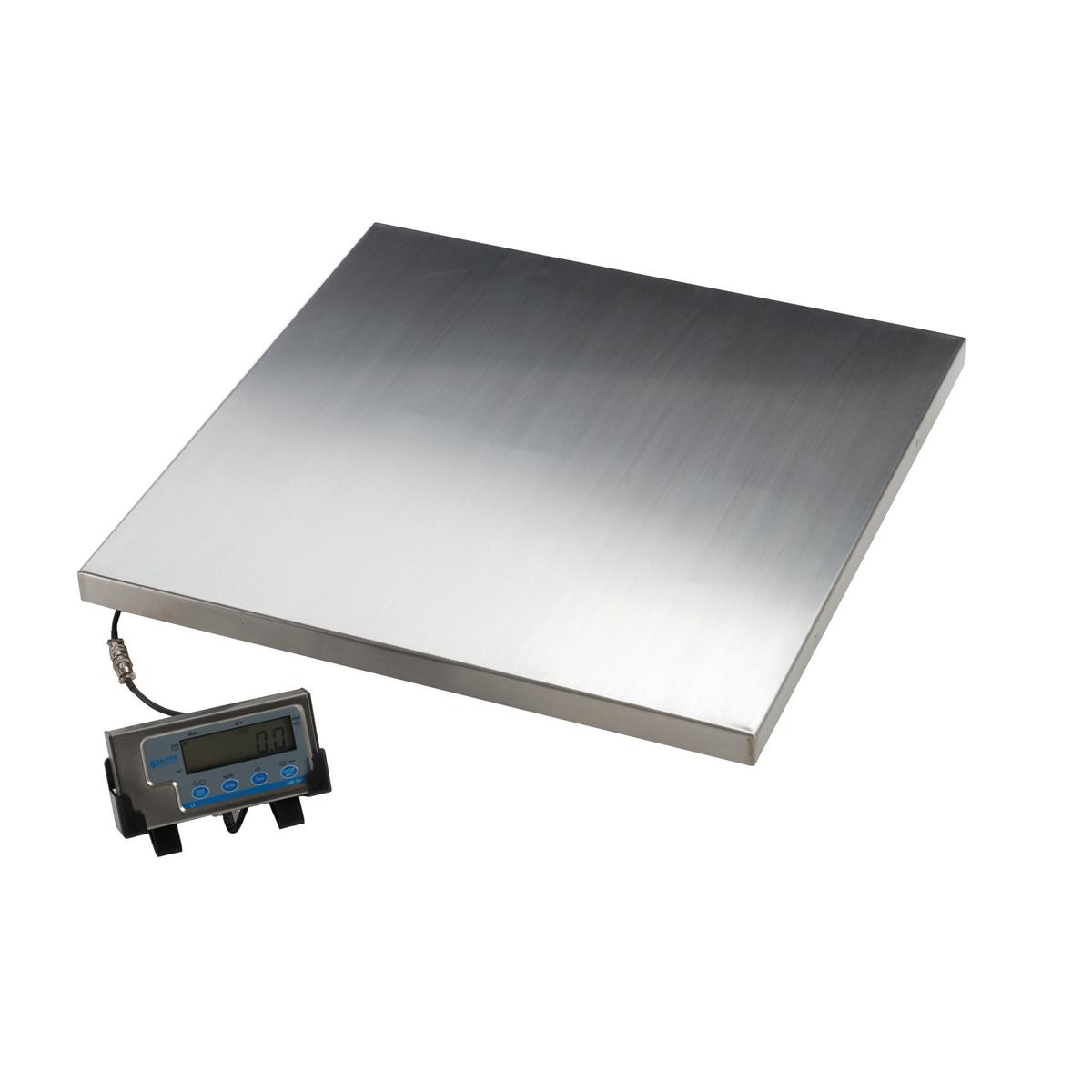Scales Salter Platform Scales Tare Imperial and Metric Capacity 300kg 50g Increments Silver Ref WS300-50