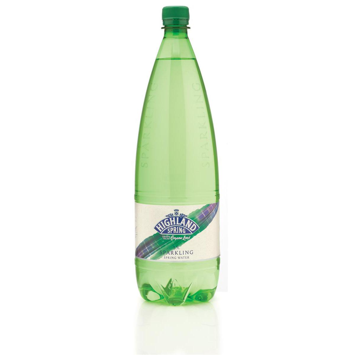 Highland Spring Water Sparkling Bottle Plastic 1.5 Litre Ref SGL21117/88 Pack 8