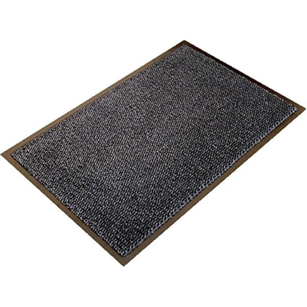 Doortex Ultimat Entrance Mat Indoor Use Nylon Monofilaments 900x1500mm Grey Ref FC490150ULTGR