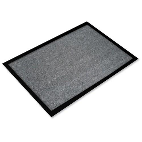 Doortex Valuemat Entrance Mat Indoor Use Hard Wearing 800x1200mm Grey Ref FC480120VALGR