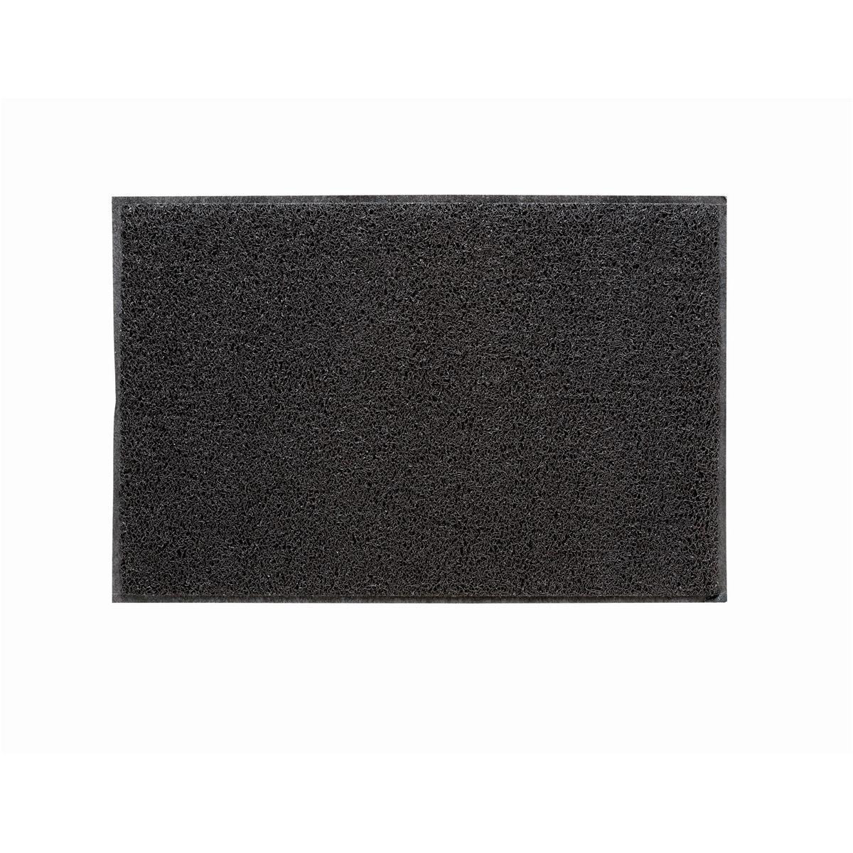 Doortex Twistermat Outdoor Mat Vinyl Fibre Surface Vinyl Back 600x900mm Storm Grey Ref FC46090TWISG