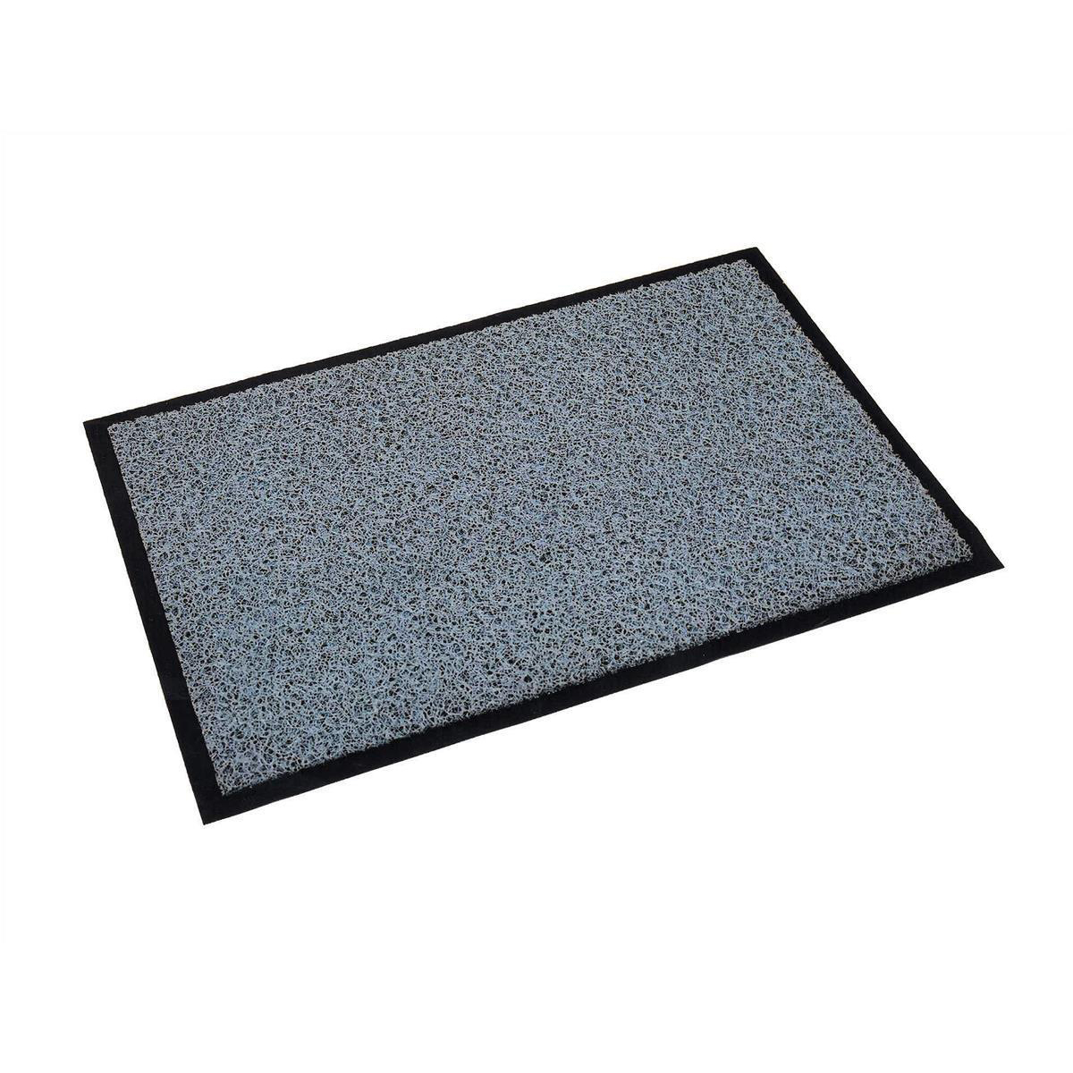Doortex Twistermat Outdoor Mat Vinyl Fibre Surface Vinyl Back 900x1500mm Storm Grey Ref FC490150TWISG