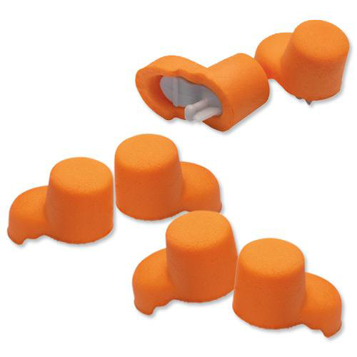 3M Ear Plugs Hypoallergenic Foam Tapered Design Refill Bottle Ref 1100B 500 Pairs