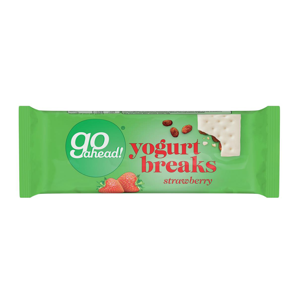 GoAhead Yogurt Biscuit Bar Slices Strawberry Ref 0401056 Pack 24