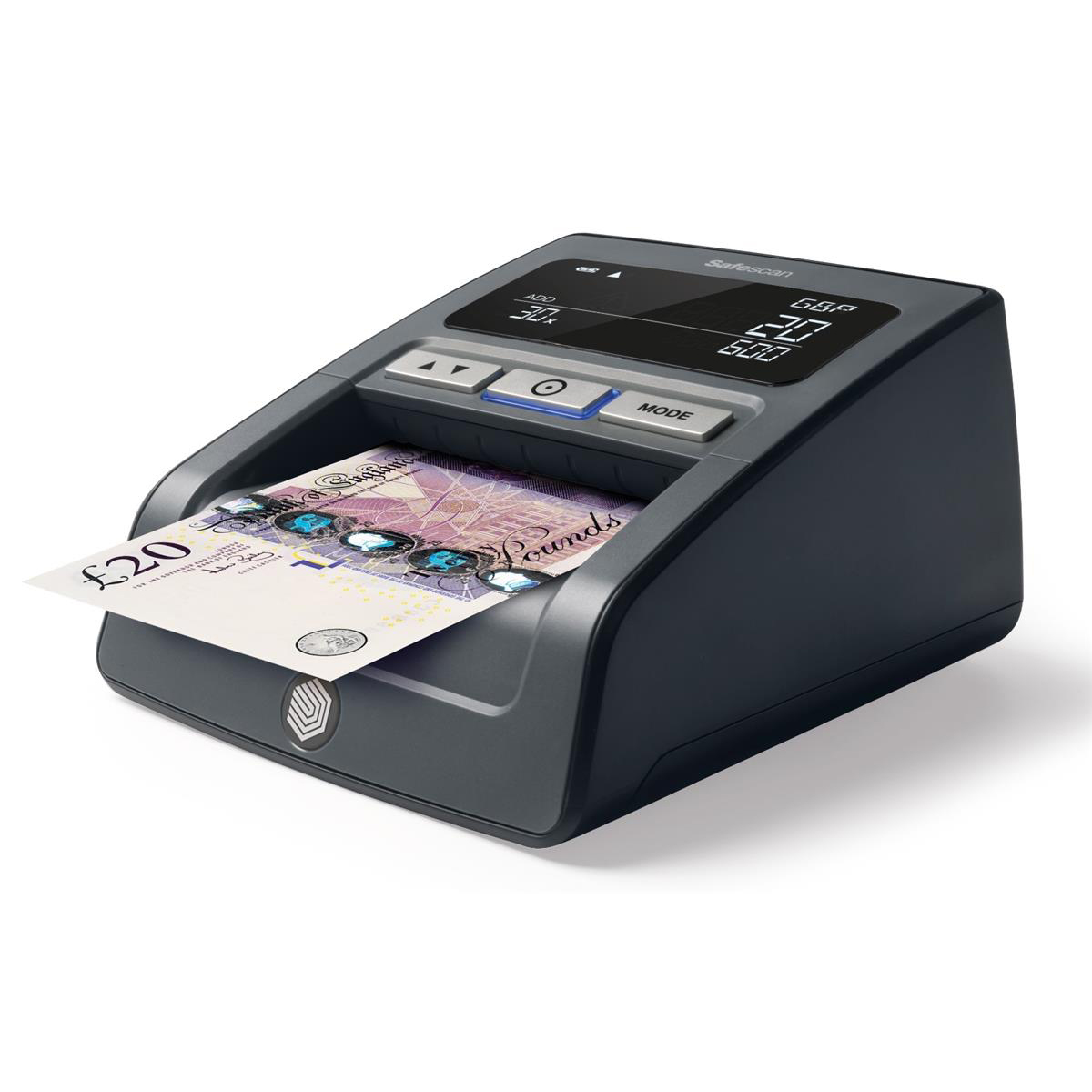 Cash Safescan 155-S Counterfeit Detector 0.62kg L159xW128xH83mm Black Ref 112-0529