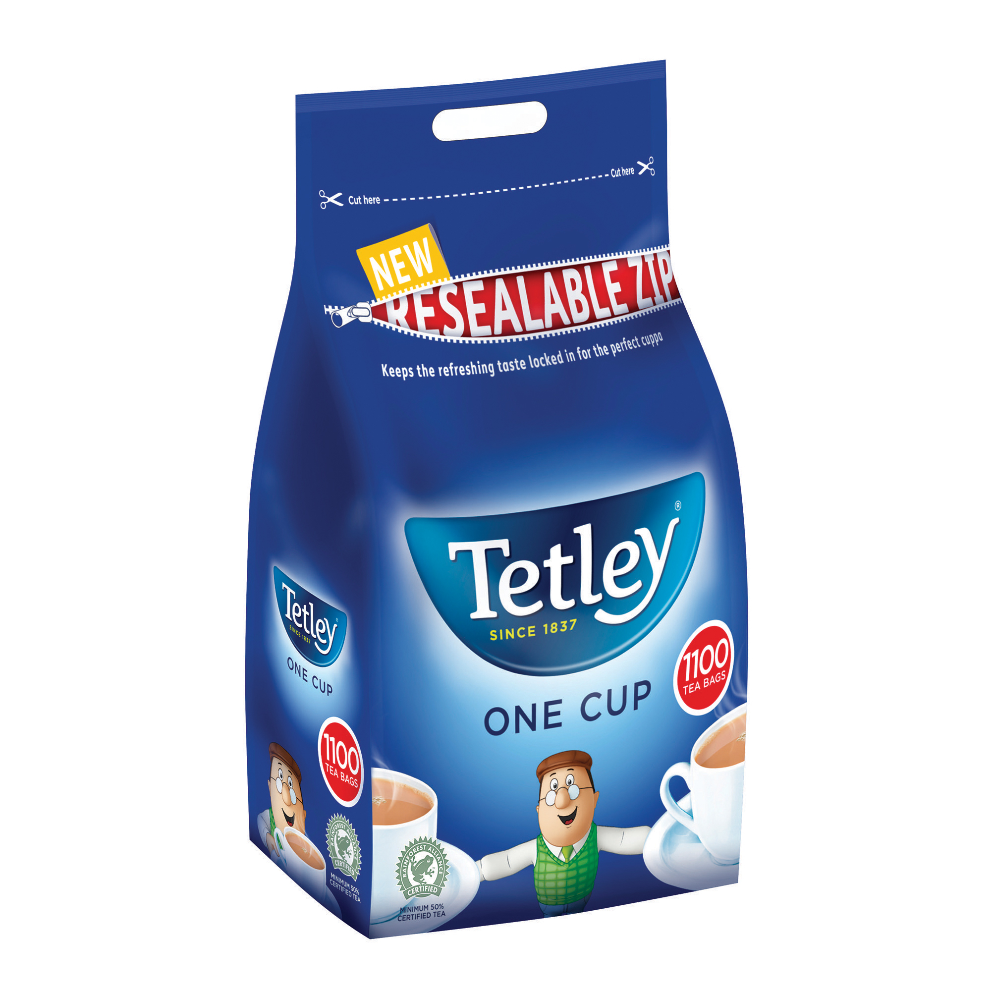 Tetley One Cup Teabags High Quality Tea Ref 1018K Pack 1100
