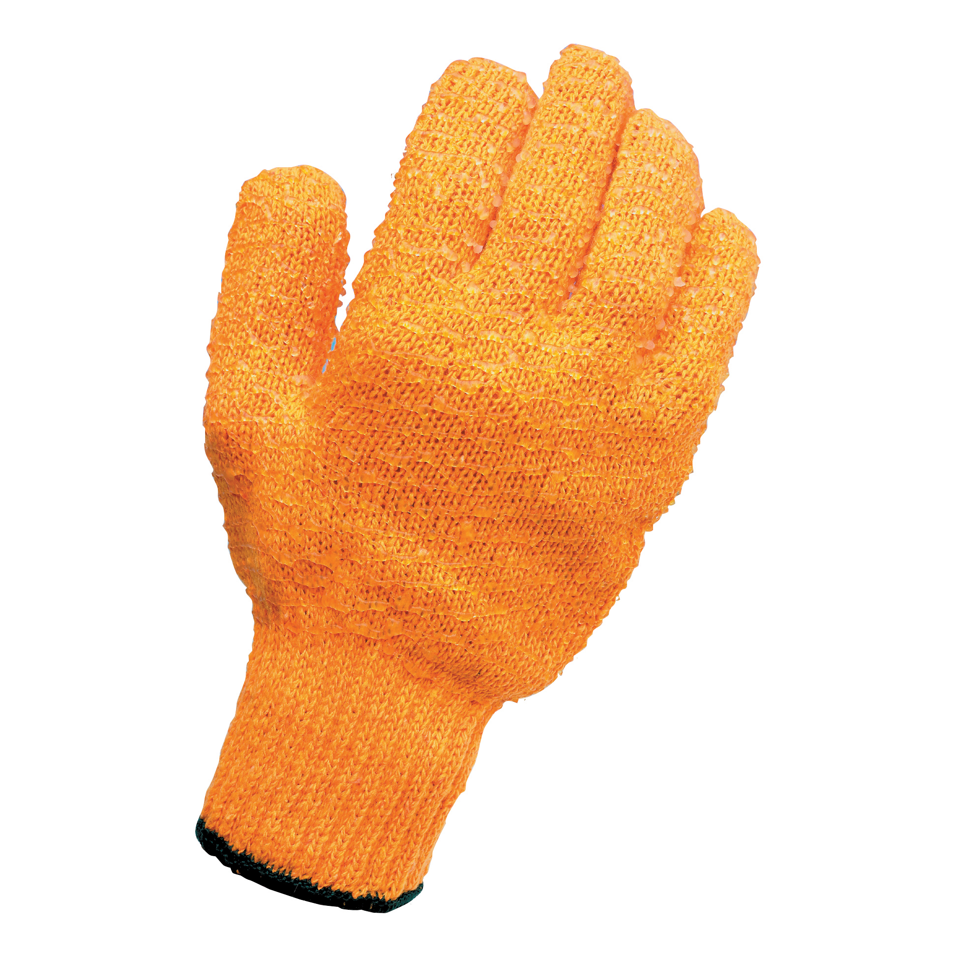 Protective gloves Knitted Grip Gloves Pair High Grip PVC Lattice One Size
