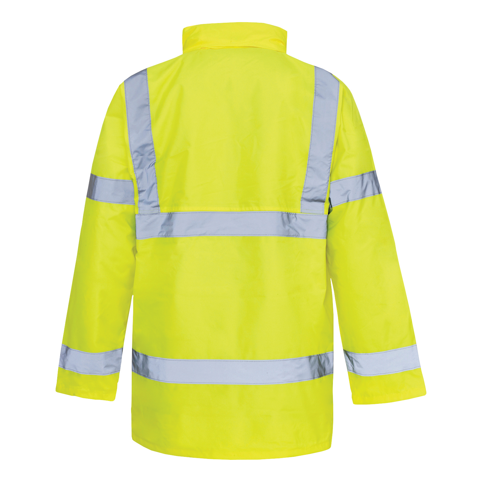 BSeen High Visibility Constructor Jacket Medium Saturn Yellow Ref CTJENGSYM *Approx 3 Day Leadtime*