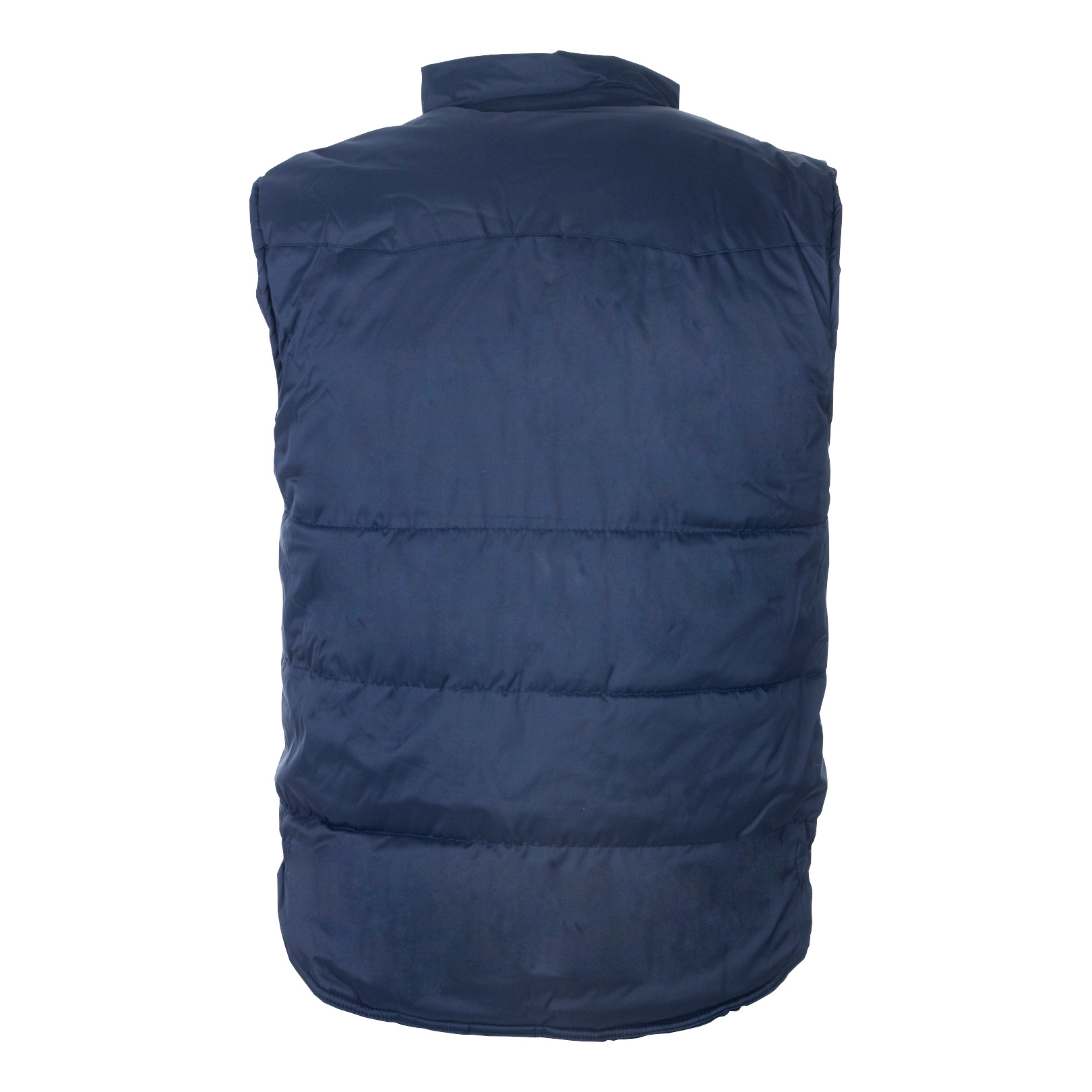 Body Warmer Polyester with Padding & Multi Pockets Large Navy Ref HBNL *Approx 3 Day Leadtime*