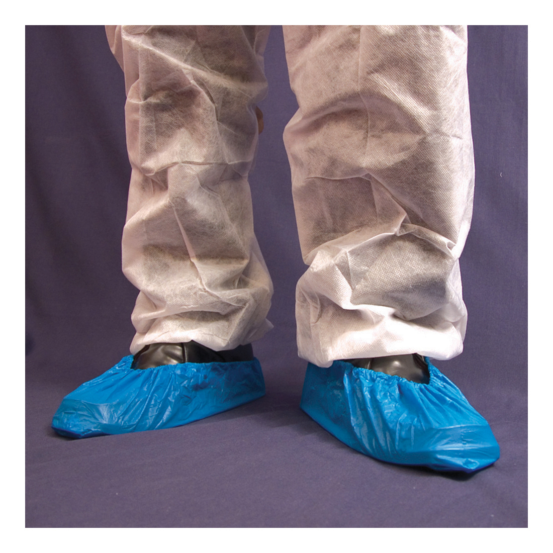 Click Once Disposable Overshoe Waterproof Elasticated Blue Ref DOSB16 [Pack 2000]