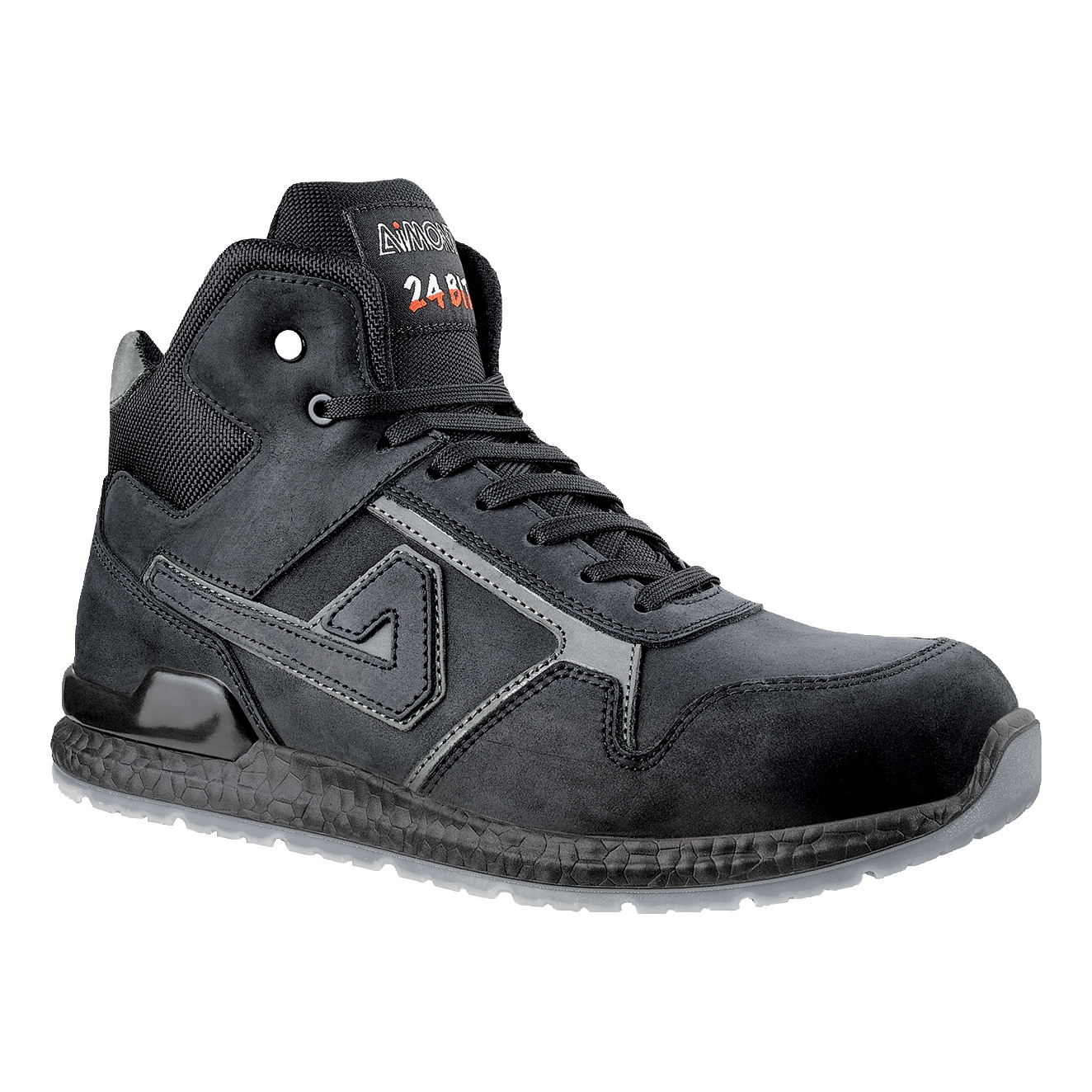 Aimont Kanye Safety Boots Protective Toecap Size 8 Black Ref AB10408 [Pair]